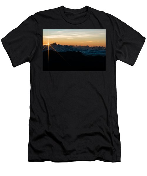 Men's T-Shirt (Athletic Fit) featuring the photograph On Top Of The World by Colleen Coccia