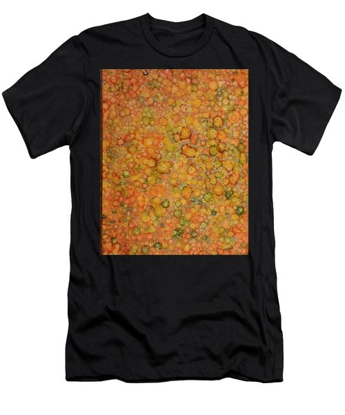Orange Craze Men's T-Shirt (Athletic Fit)