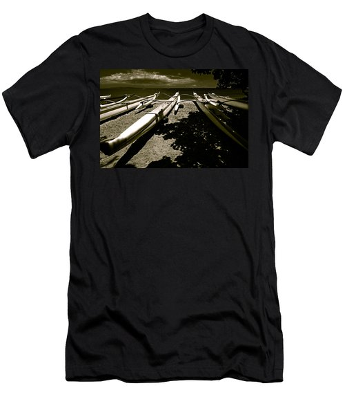 Outrigger Ocean Canoes Men's T-Shirt (Athletic Fit)