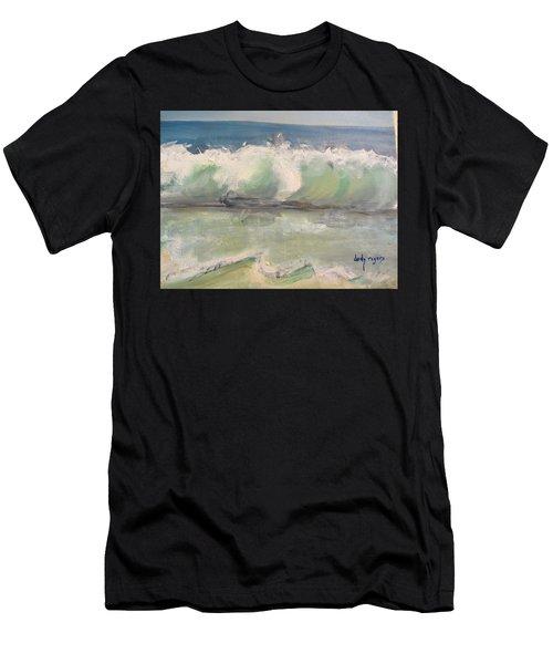 Pacific Wave Men's T-Shirt (Athletic Fit)