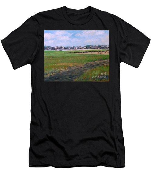 New England Shore Men's T-Shirt (Athletic Fit)