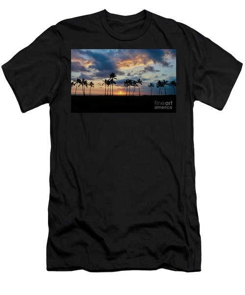 Palms At Sunset Men's T-Shirt (Athletic Fit)