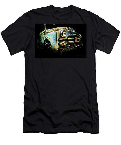 Men's T-Shirt (Athletic Fit) featuring the photograph Grandpa's Truck by Glenda Wright