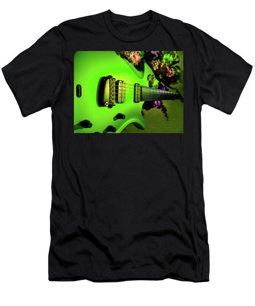 Parker Fly Guitar Hover Series Men's T-Shirt (Athletic Fit)