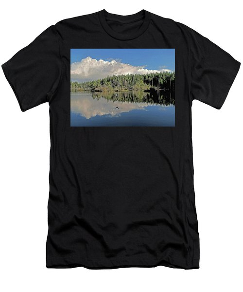 Pause And Reflect Men's T-Shirt (Athletic Fit)