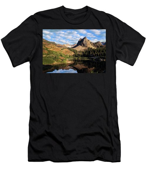 Peaceful Mountain Lake Men's T-Shirt (Athletic Fit)