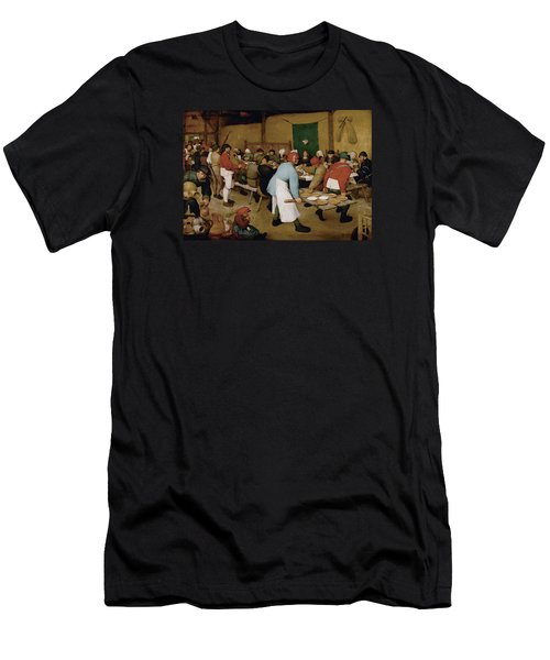Peasant Wedding Men's T-Shirt (Athletic Fit)