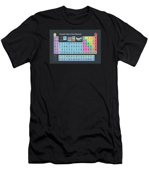 Periodic Table Of Elements Men's T-Shirt (Athletic Fit)