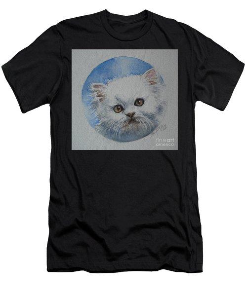Persian Kitten Men's T-Shirt (Athletic Fit)