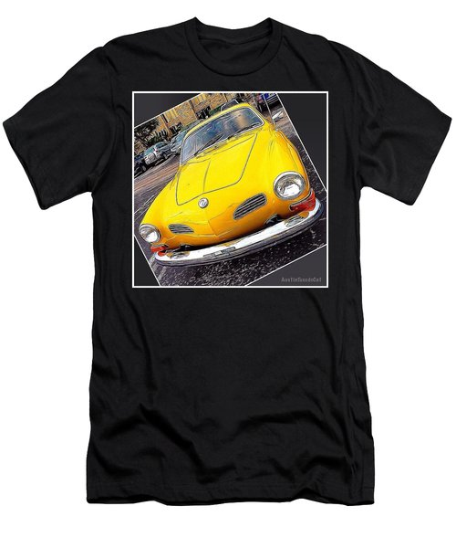 Photoshopping The #yellow #karminnghia Men's T-Shirt (Athletic Fit)