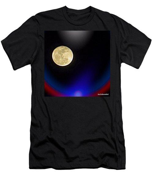 Photoshopping Tonight's #moon. Wish Men's T-Shirt (Athletic Fit)