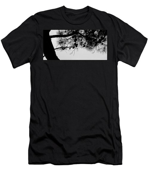 Pine Cone Branch Men's T-Shirt (Athletic Fit)
