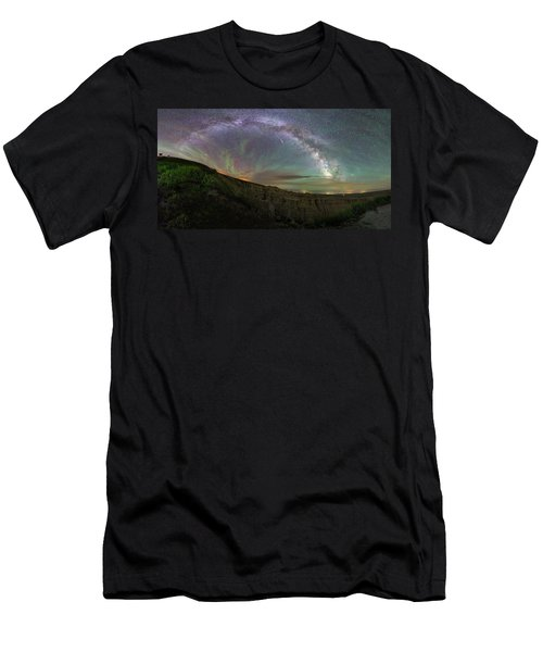 Men's T-Shirt (Athletic Fit) featuring the photograph Pinnacles  by Aaron J Groen