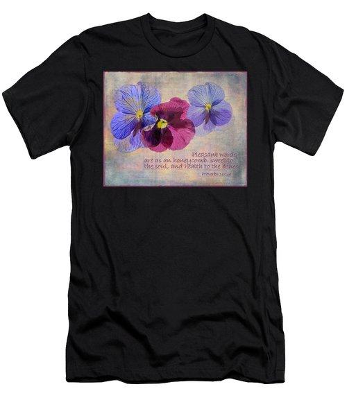 Pleasant Words Men's T-Shirt (Athletic Fit)