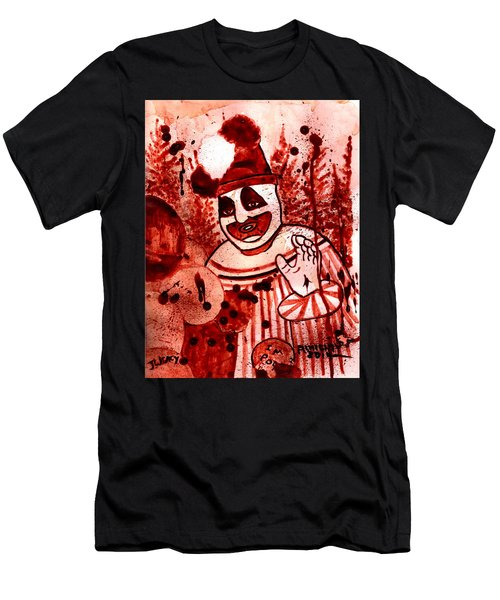Pogo Painted In Human Blood Men's T-Shirt (Athletic Fit)