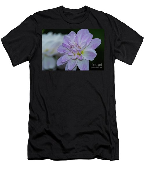 Porcelain Dahlia Men's T-Shirt (Athletic Fit)
