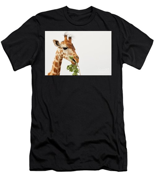 Portrait Of A Rothschild Giraffe  Men's T-Shirt (Athletic Fit)