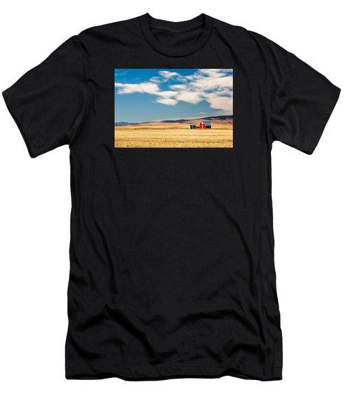 Prairie Red Men's T-Shirt (Athletic Fit)