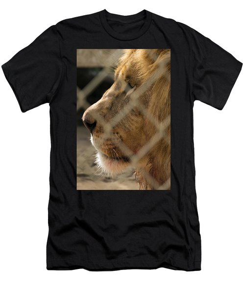 Profile Of A King Men's T-Shirt (Athletic Fit)
