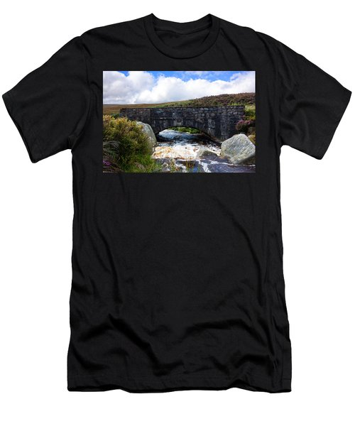 Ps I Love You Bridge In Ireland Men's T-Shirt (Slim Fit) by Semmick Photo
