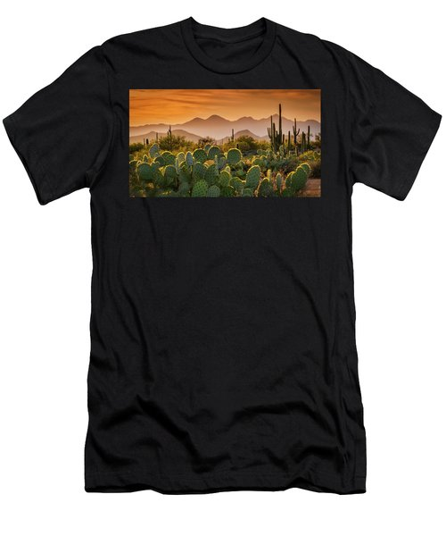 Pure Sonoran Gold  Men's T-Shirt (Athletic Fit)