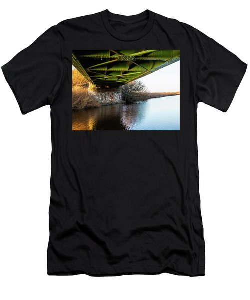 Railway Bridge Men's T-Shirt (Athletic Fit)