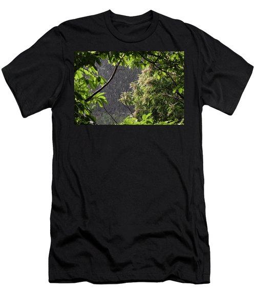 Rain Men's T-Shirt (Athletic Fit)