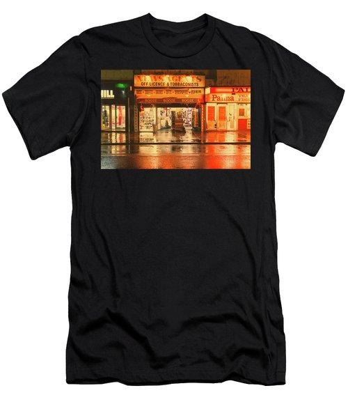 Rain Town Men's T-Shirt (Athletic Fit)