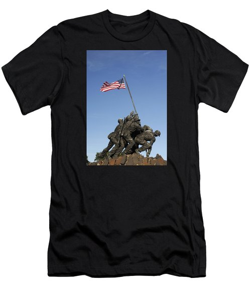 Raising The Flag On Iwo - 799 Men's T-Shirt (Athletic Fit)
