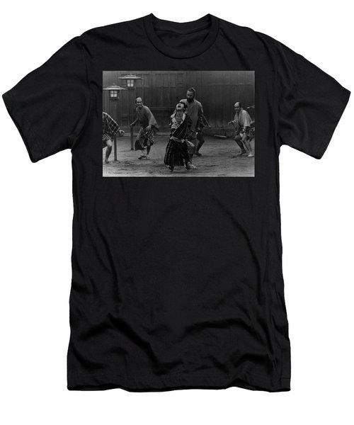 Red Beard Film Still Men's T-Shirt (Slim Fit) by Dan Twyman