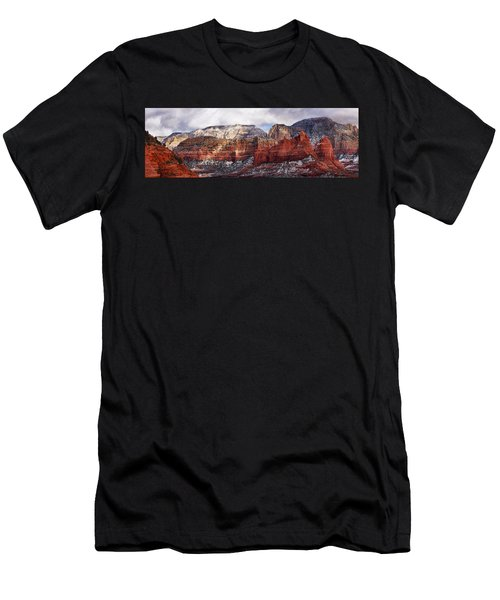 Red Rock Peaks Men's T-Shirt (Athletic Fit)