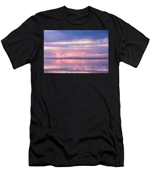 Reflections At Sunset In Key Largo Men's T-Shirt (Athletic Fit)