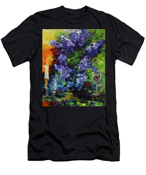 Lilacs Men's T-Shirt (Athletic Fit)