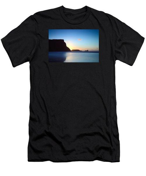 Rhosili 1 Men's T-Shirt (Athletic Fit)