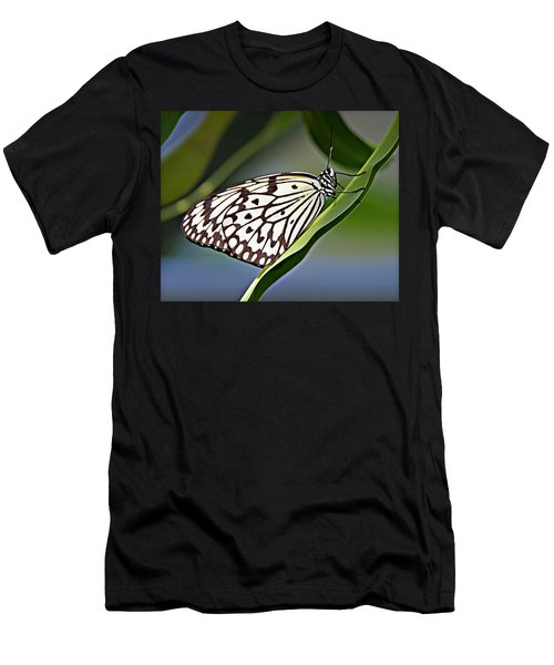 Rice Paper Butterfly 8 Men's T-Shirt (Athletic Fit)