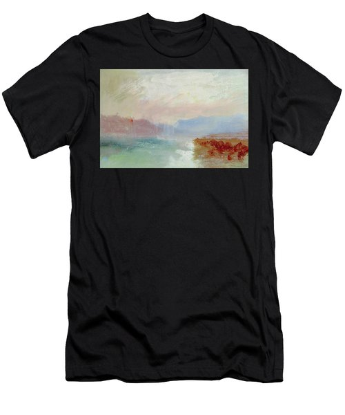 River Scene Men's T-Shirt (Athletic Fit)