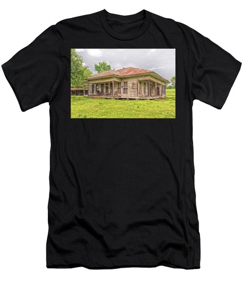 Arkansas Roadside House Men's T-Shirt (Athletic Fit)