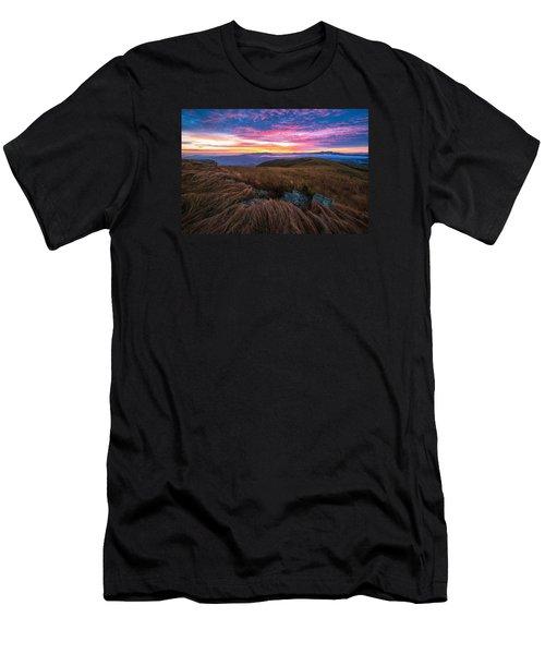 Roan Mountain Sunrise Men's T-Shirt (Athletic Fit)