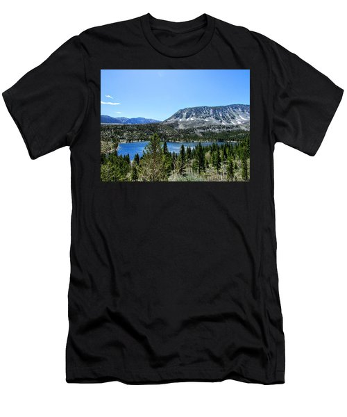 Rock Creek Lake Men's T-Shirt (Athletic Fit)