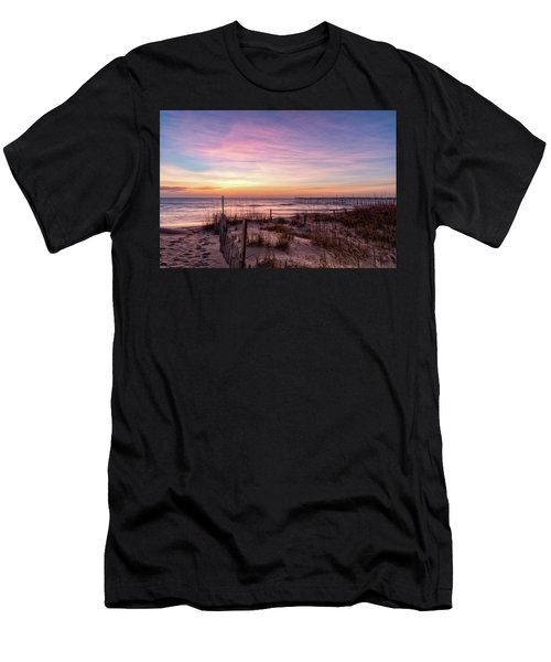 Rodanthe Sunrise Men's T-Shirt (Athletic Fit)