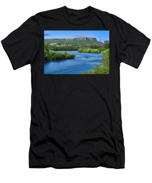 Rolling Along Men's T-Shirt (Athletic Fit)