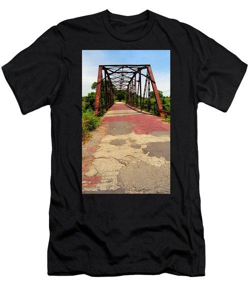Route 66 - One Lane Bridge Men's T-Shirt (Athletic Fit)
