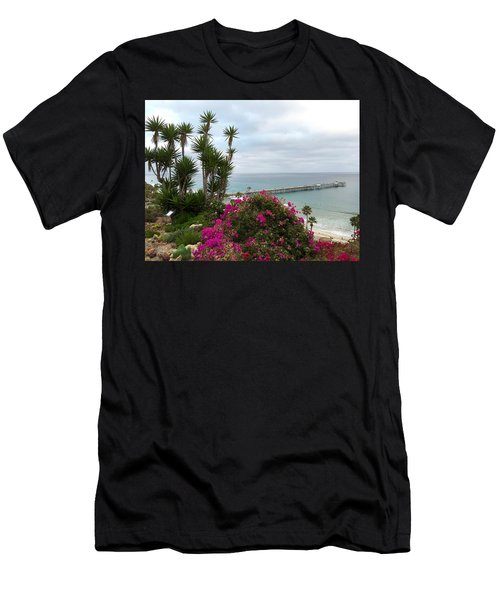 San Clemente Pier Men's T-Shirt (Athletic Fit)