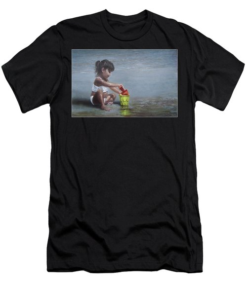Sand Castles II Men's T-Shirt (Athletic Fit)