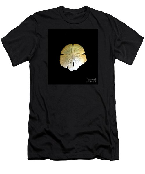 Men's T-Shirt (Slim Fit) featuring the photograph Sand Dollar by Fred Wilson