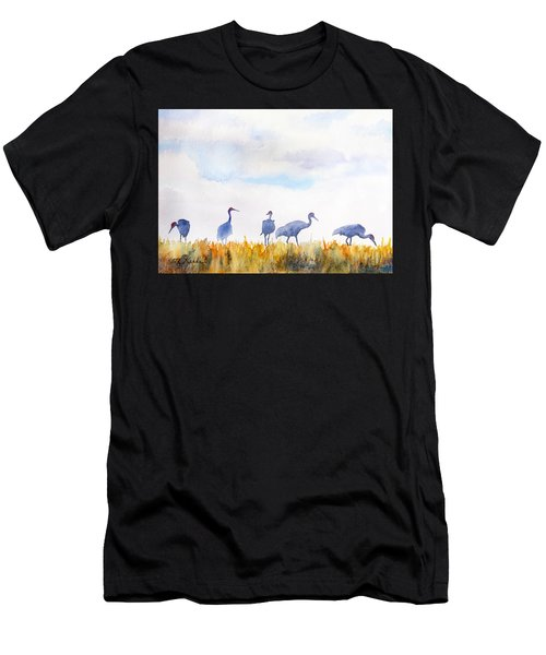 Sandhill Skyline Men's T-Shirt (Athletic Fit)