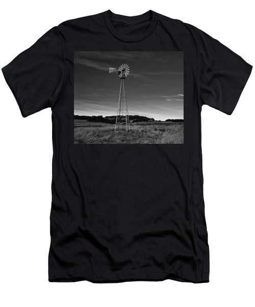 Santa Rosa Plateau Windmill Men's T-Shirt (Athletic Fit)