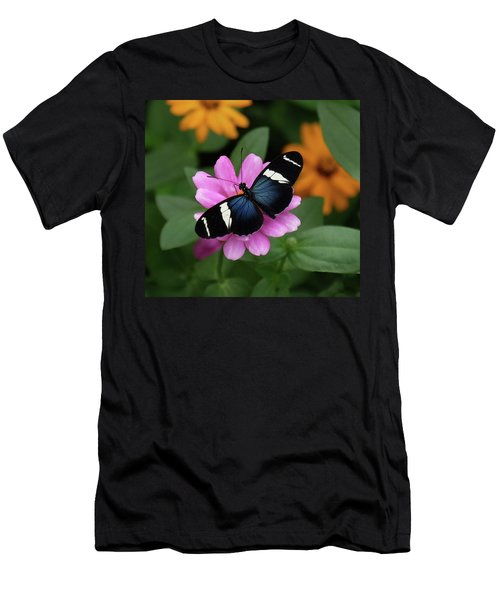 Sara Longwing Butterfly Men's T-Shirt (Athletic Fit)