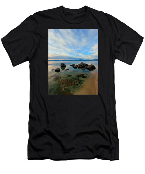 Serenity  Men's T-Shirt (Slim Fit) by Sean Sarsfield