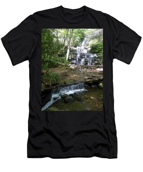Set Rock Creek Falls Men's T-Shirt (Athletic Fit)